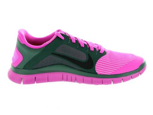 Nike Free 4.0 V3 Laufschuhe Damen club pink-black-vintage green (580406-603)