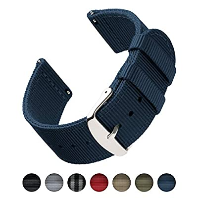 Archer Watch Straps | Repuesto de Correa de Reloj de Nailon para Hombre y Mujer, Correa Fácil de Abrochar para Relojes y Smartwatch | Varios Colores, 18mm, 20mm, 22mm