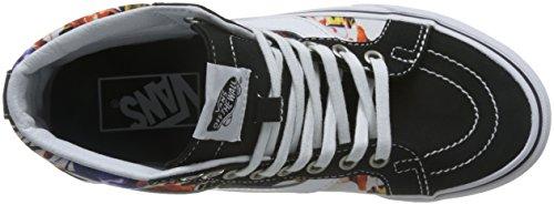 Vans Herren Sk8-Hi Hightop Sneaker Cuban Floral Black True White
