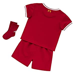 Liverpool FC 17/18 Home Infant Football Kit - Red - size 12-18M from New Balance