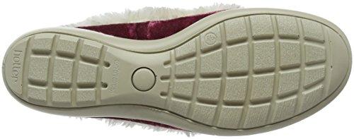 Più Caldo Damen Amelia Sneaker Rosso (rubino)