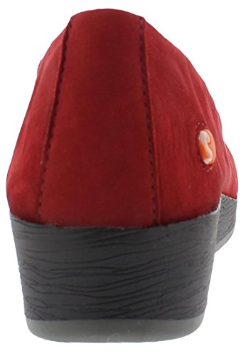 Keilpump softinos ASA414SOF nobuck leather HW17 Grau