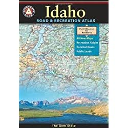 Benchmark Idaho Road & Recreation Atlas 2nd (second) edition Text Only