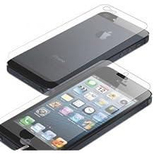 Protectores de pantalla(2 para parte delantera y 2 para trasera) alta calidad, MATE anti-arañazos para iPhone 5 / 5S /SE - Novago ®