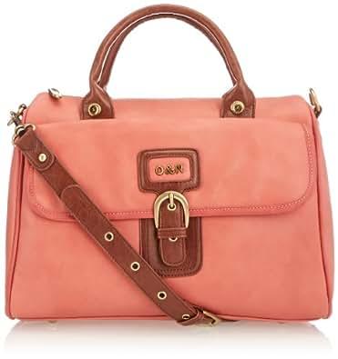 IDA Barrel Top-Handle Bag 114HBP010_053 Coral