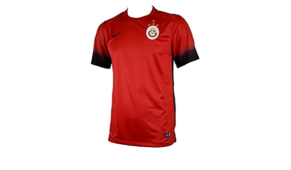 Nike Galatasaray Istanbul 3rd 2015 2016 Official multi-coloured Rojo Negro ( Lt Crimson Black Black) Size Small  Amazon.co.uk  Sports   Outdoors b1ddd5988