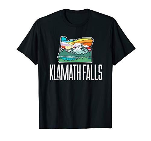 Klamath Falls Vintage Oregon Nature & Outdoors Retro Graphic T-Shirt -