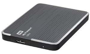 WD My Passport Ultra externe Festplatte 2TB (6,4 cm (2,5 Zoll), USB 3.0) titanium
