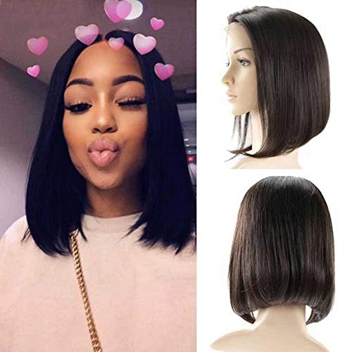 10 - Maxine Human Hair Lace Front Wigs with Adjustable