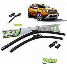 Valeo_group Valeo Juego de 2 escobillas de limpiaparabrisas Especiales para Dacia sandero Los 550/450