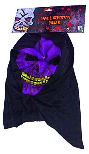 Maska Glowa Szkieletora Halloween