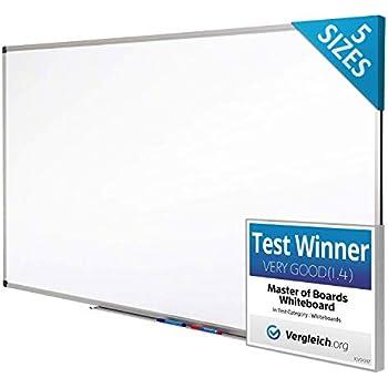 Magnetic Whiteboard Dry Board Wipe Eraser Office Memo School Pens Try 120 x 90