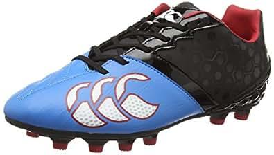 Canterbury Phoenix Club Moulded, Chaussures de Rugby Homme - Noir (989), 39 EU