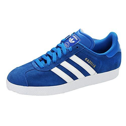 Adidas Gazelle OG scarpe da ginnastica blu - sintetico e tessuto, 40 ⅔, BIANCO/ BLU