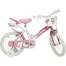 """Hello Kitty 82DI061 - Bicicleta 16"""" para niña"""