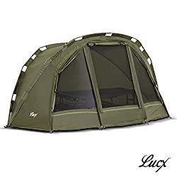 Lucx/® Marder Zelt//Bivvy 1-3 Mann Angelzelt//Karpfenzelt//Campingzelt//Carp Dome//Zelt//Fishing Tent