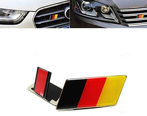 B329 Deutschland Fahne Emblem 3D Grill Abzeichen Abzeichen Aufkleber Auto Grill Mobile