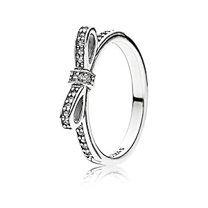 Pandora Damen-Ring 925 Sterling Silber Zirkonia weiß 190906CZ