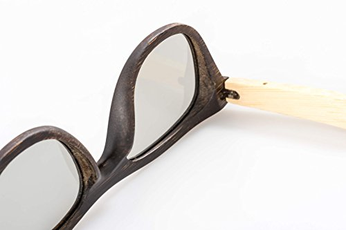 2x Hi-SHOCK® passive Bambus 3D-Brille