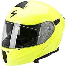 Scorpion Exo 920 neón Amarillo Casco de Moto, Amarillo, ...