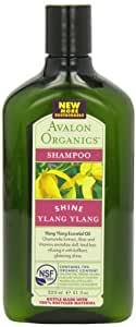 Avalon Organics Ylang Ylang Glistening Shampoo 325ml