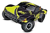 Traxxas Slash Brushed 1:10 RC Modellauto Elektro Short Course Heckantrieb (2WD) RTR 2,4 GHz Inkl. Akku und Ladegerät