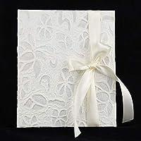 Album in carta di riso con nastro di chiusura in raso, vari formati