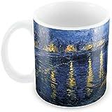 Posterboy 'Starry Night Vincent Van Gogh' Ceramic Mug (350ml)