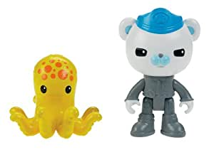 Octonauts Figure & Creature Pack Barnacles & the Octopus
