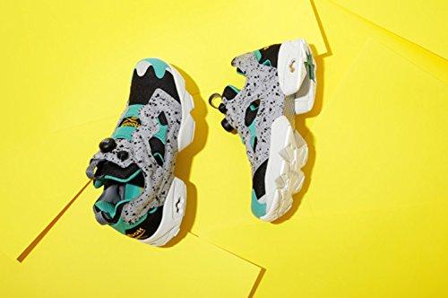 Reebok Pump Fury retro running Glass Green Black Grey-Chaussures de course 80-90 ans Multicolore - Multicolor