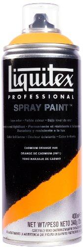 Liquitex Professional - Acrílico en spray, 400ml, naranja de cadmio