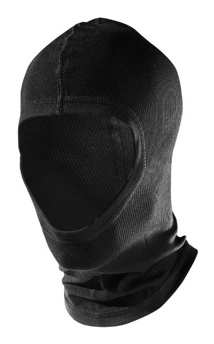 Löffler Sturmhaube Sturmmütze Transtex Mütze, schwarz, 1