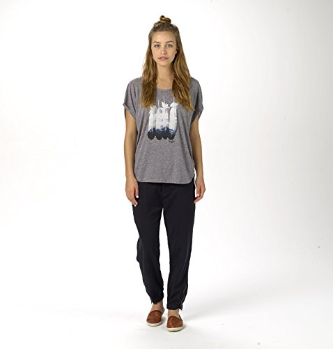 Burton T-shirt Mtn Sun rllie manches courtes Gris