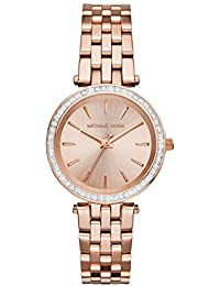 Michael Kors Analog Rose Dial Women's Watch - MK3366