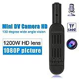 Gybai Webcam Mini Caméra HD DVR Full HD 1080P Micro Caméra sans Fil 12MP Stylo Caméra Enregistreur Vidéo Support Caméra Numérique Support 32Go Carte