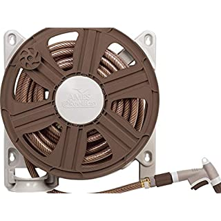 The AMES Companies, Inc NeverLeak Side Mount Hose Reel with 100-Feet Hose Capacity- 2388340