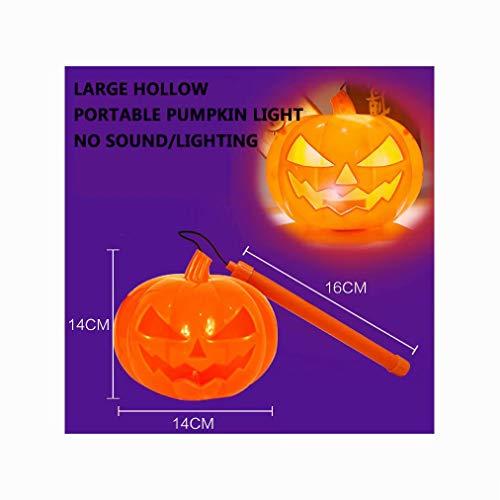 Große Kürbis Rasen Tasche - WENBOH Halloween liefert tragbare Kürbis Tasche
