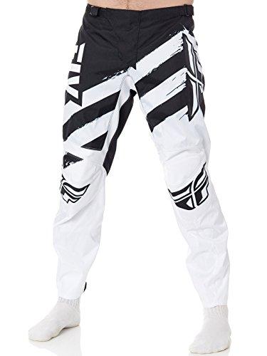 Pantalon Motocross Fly Racing 2018 F-16 Gris-Noir (28 Taille = Fr 36 , Noir)