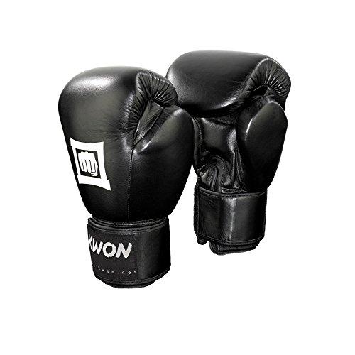 KWON Boxhandschuh Sparring Champ 14oz schwarz