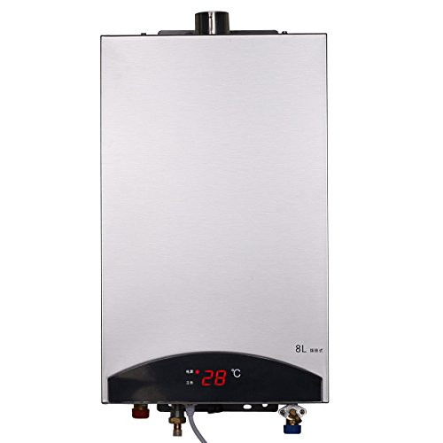HB Calentador de agua sin tanque caliente instantánea grifo eléctrico Cocina Calefacción instantánea grifo de la ducha Calentador de Agua JSQ16-S01 (LPG)