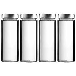 Glasflaschen 1 Liter Mit Schraubverschluss Bouticode