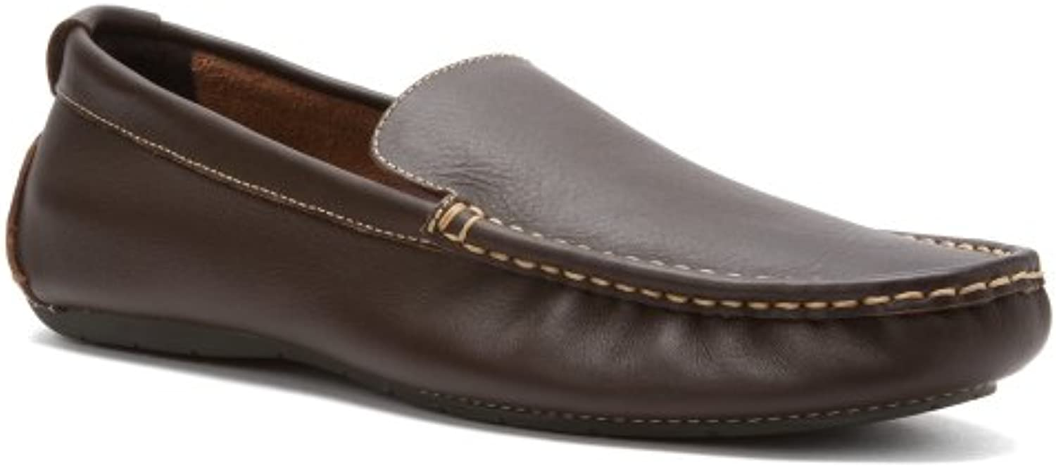 Vionic Mens Parker Orthotic Slip On Moc Toe Loafer Shoes