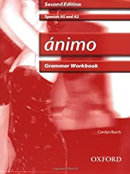Ánimo: Grammar Workbook & CD-ROM