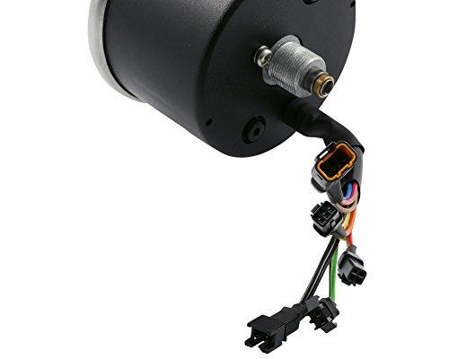 Couteau/Tacho SIP 2.0 140 (km/h/mph) / 140000 (Umin/rpm) - Cadran : noir, cadran : jaune, tachymètre, acier inoxydable, digital/analogique, 18 fonctions