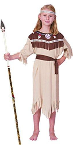 Kostüm Kind Indischen - P 'tit Clown re98631-Kostüm Kinder Indische, M 7/9Jahre