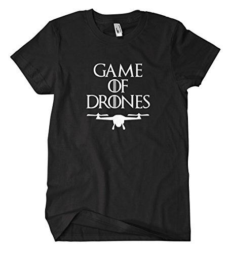 Game of Drones T-Shirt Schwarz