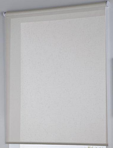 Rollertor Dresde Estor Enrollable, Tela, Lino, 110 x 175 cm