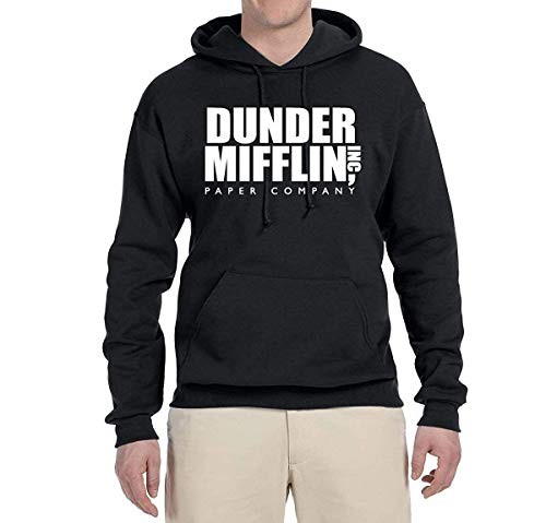 Artpower Dunder Mifflin Paper | Mens Pop Culture Hooded Sweatshirt Graphic Hoodie