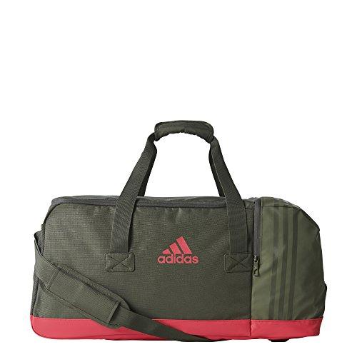 adidas 3-Stripes Performance Sporttasche, Night Cargo/Energy Pink, 60 x 27 x 29 cm