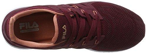 Fila Women Base Topic Low Wmn, Sneaker Donna Braun (TAWNY Port)